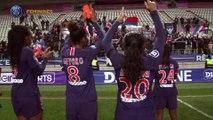 Joie et réactions après la victoire face à Metz