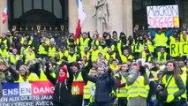 """Quinto sábado de protestas de """"chalecos amarillos"""" en Francia"""