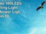 Rain Lights EONANT 30cm 10 Tubes 360LEDs Solar Falling Lights Meteor Shower Lights Rain