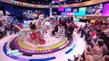 """Marc-Antoine Le Bret met un beau bazar sur le plateau des """"Enfants de la télé"""" ! Regardez"""