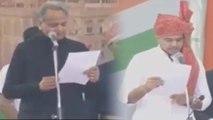 Rajasthan के CM Ashok Gehlot , Deputy CM Sachin Pilot की Oath Taking Ceremony | वनइंडिया हिंदी