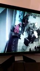 Lawyers beat up staff at a Petrol Pump