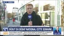 """Adrien Quatennens (LFI) : """"Entre ce que pose sur la table le gouvernement et les revendications des gilets jaunes, il reste beaucoup à faire"""""""