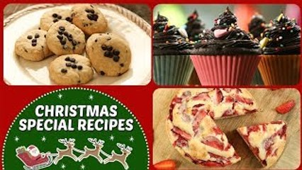 Christmas Special Recipes - Homemade Dessert Recipes In Hindi - Easy Baking Recipes