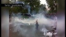 Loi Travail : heurts place de la Nation, noyée sous les gaz lacrymogènes