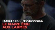 Saint-Etienne-du-Rouvray : le maire ému aux larmes réagit à l'attaque