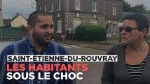 """Saint-Etienne-du-Rouvray : """"Mais qu'est-ce qui se passe chez nous ?"""""""