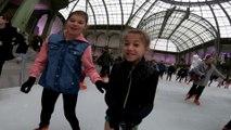 La plus grande patinoire intérieure au monde fait son retour au Grand Palais à Paris