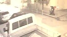 Kadına Bıçaklı Şiddetin Görüntüleri Güvenlik Kamerasına Yansıdı