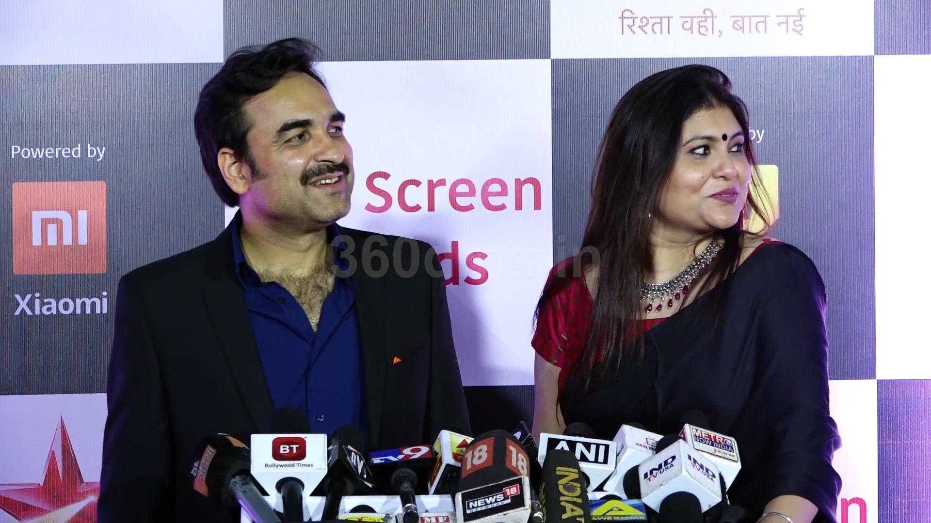 Watch How Pankaj Tripathi Express His Love For Wife | Star Screen Awards 2018
