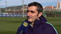 Valverde reacts to UCL last-16 draw against Lyon