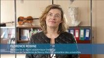 La rectrice Florence Robine souhaite de bonnes fêtes de fin d'année à tous les personnels de l'académie