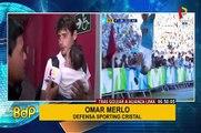 La palabra de los 'celestes' tras coronarse campeones del fútbol peruano
