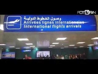 وصول الفنان سعد الصغير مطار تونس