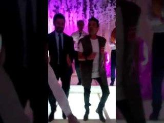 رقص الفنان سعد الصغير. وحسن الرداد