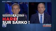 Sarkozy, punching-ball de NKM, Le Maire et Copé pendant le débat de la primaire