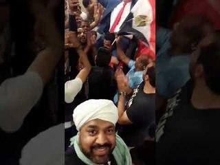 حجازى متقال واغنية والله وعملوها الرجالة مع عمرو أديب