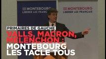 """""""Peureux"""", """"bravache"""", """"diviseur"""" : Montebourg tacle Macron, Mélenchon et Valls à son meeting de Dijon"""
