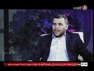 مساجله شعرية للشاعر محمد الاعاجيبي والشاعر ابو محمد المياحي في برنامج غدير الشعراء