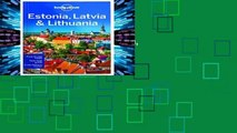 Popular Lonely Planet Estonia, Latvia   Lithuania (Travel Guide) - Lonely Planet