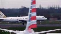 Tempête : ces pilotes ratent leur atterrissage en avion au premier coup !