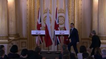 Theresa May reassures Polish people in UK over Brexit