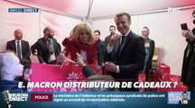 Emmanuel et Brigitte Macron jouent les Pères Noël - ZAPPING ACTU DU 20/12/2018