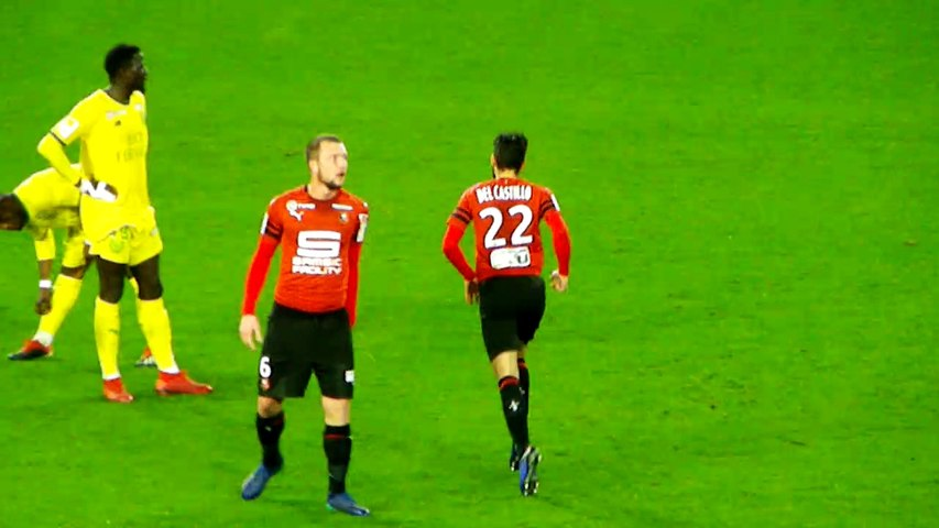 19/12/18 : SRFC-FCN : changement Del Castillo / Siebatcheu (70')