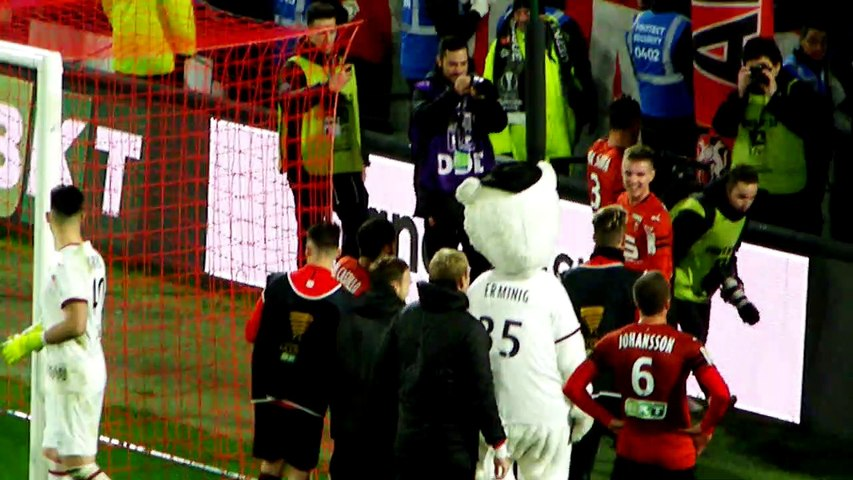 19/12/18 : SRFC-FCN : clapping