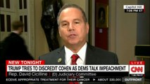 Rep. David Cicilline speaks on Donald Trump tries to discredit Cohen as Dems talk impeachment. #DonaldTrump #ErinBurnett