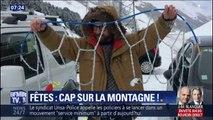 Ashley Chevalier et Olivier Saint-Paul ont réussi à monter Val Thorens, où la neige est tombée en abondance