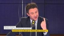 """Grand Débat : Benjamin Griveaux en a """"ras-le-bol de cette suspicion généralisée""""."""