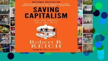 About For Books  Saving Capitalism: For the Many, Not the Few  Best Sellers Rank : #3