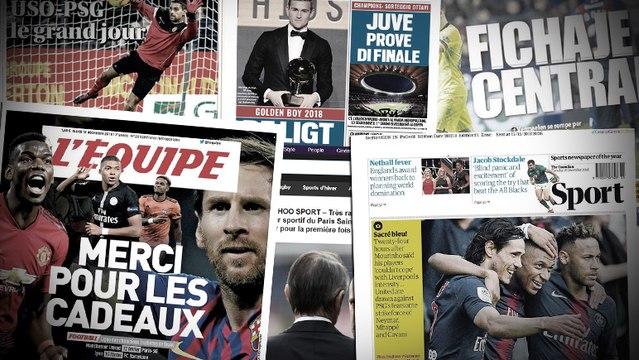 Le FC Barcelone cherche un défenseur, la Juventus se rapproche de Matthijs de Ligt