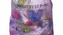 Le sac-poubelle mauve P+MC en Belgique