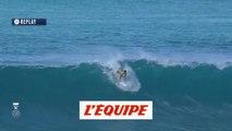 Le top 3 des vagues de Gabriel Medina face à Julian Wilson au Pipe Masters 2018 - Adrénaline - Surf