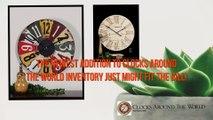 Designer Wall Clocks for Sale- Clocks Around The World