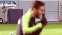 Quand Leroy Sané imite Cristiano Ronaldo