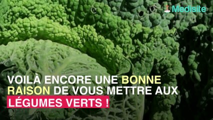 Manger des légumes verts permet de réduire la graisse autour du foie