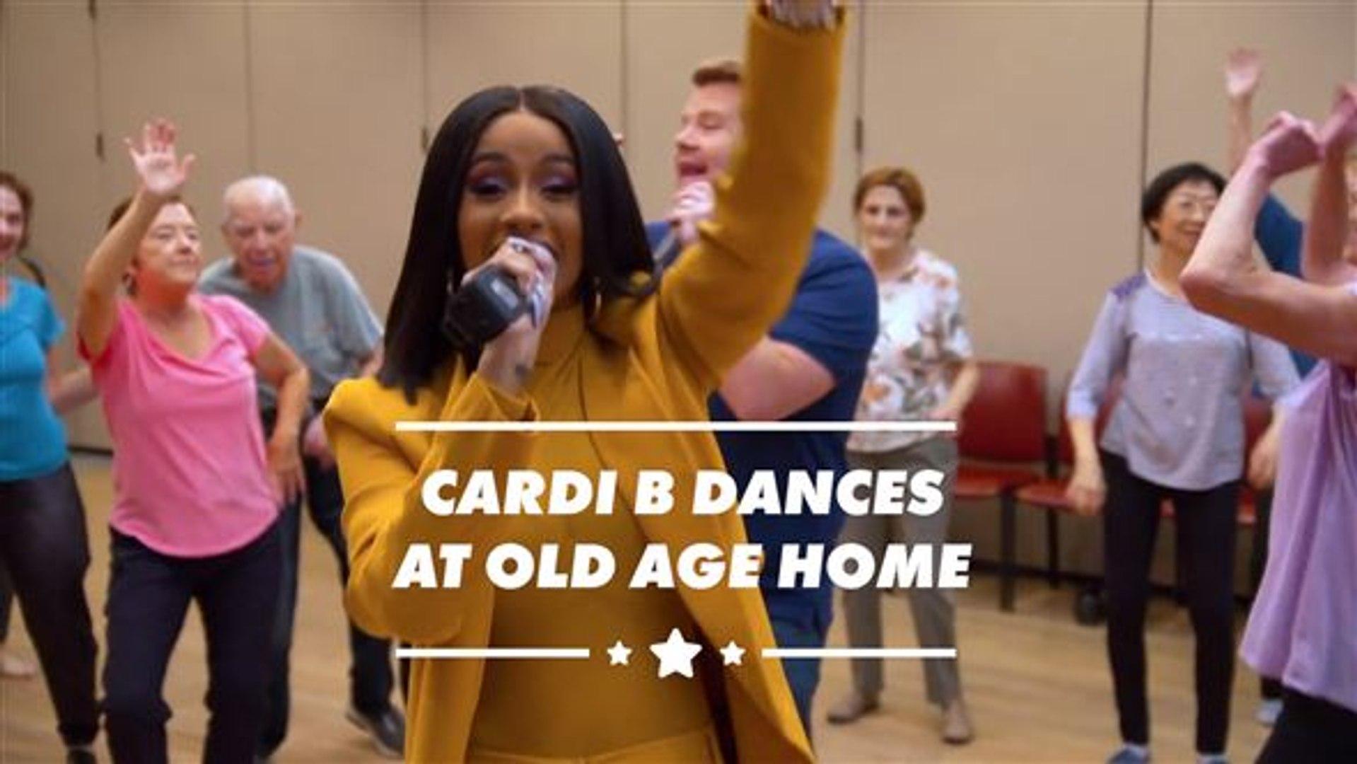 Cardi B Performs For Senior Citizens In Carpool Karaoke Video