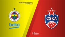 Fenerbahce BEKO Istanbul - CSKA Moscow  Highlights | Turkish Airlines EuroLeague RS Round 13