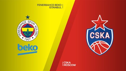 EuroLeague 2018-19 Highlights Regular Season Round 13 video: Fenerbahce 79-75 CSKA