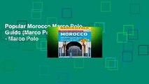 Popular Morocco Marco Polo Guide (Marco Polo Travel Guides) - Marco Polo
