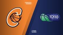 Cedevita Zagreb - Tofas Bursa Highlights | 7DAYS EuroCup, RS Round 10