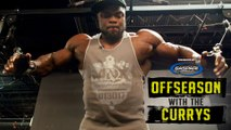 How Brandon Curry Balances Training, Recovery, and Family   Offseason With The Currys