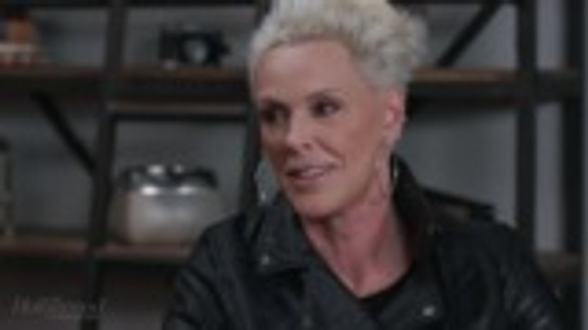 """Brigitte Nielsen On Working With """"Humble"""" Pro Boxer Florian Munteanu in 'Creed II' 