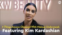 """Kim Kardashian Reacted to 9 Things Anyone Obsessed With Makeup Understands, and It'll Have You Saying, """"Same"""""""