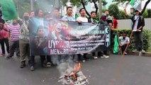 Endonezya'da Çin protestosu - CAKARTA