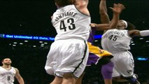 Kobe Bryant Slam Dunk Vs Brooklyn Nets