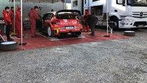 Essais WRC Citroën